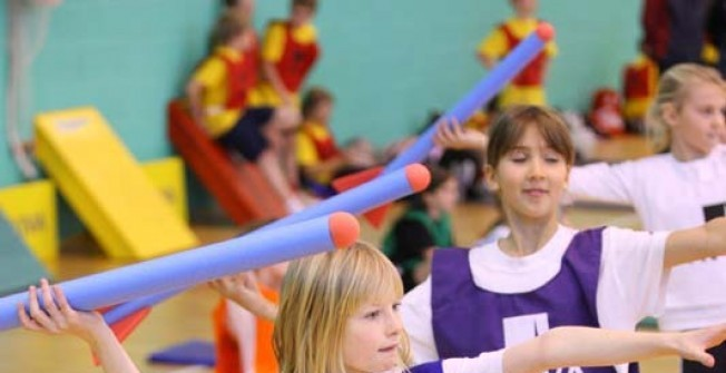 Sports Hall Equipment Grants in Carmarthenshire