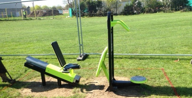Outdoor Community Gyms in Aberbran