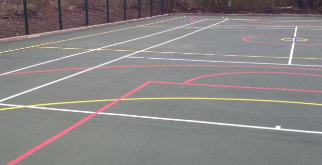 Academies Outdoor MUGA in East Dunbartonshire