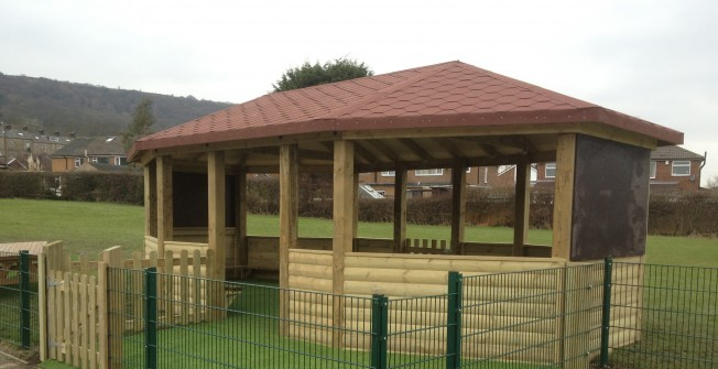 Timber Learning Structure in Monmouthshire