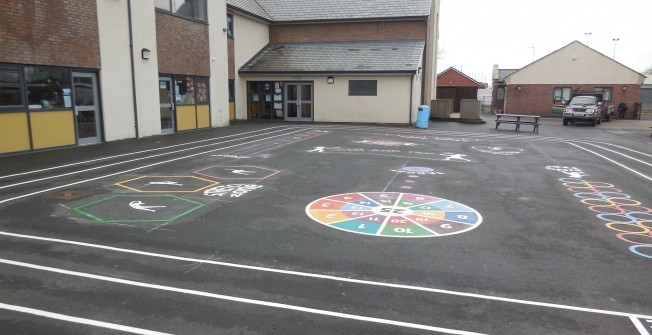 School MUGA Funding in Wrexham