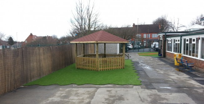 Outdoor Timber Classrooms in Dungannon