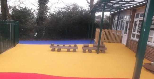 Nursery Play Area Funding in Abergwynfi